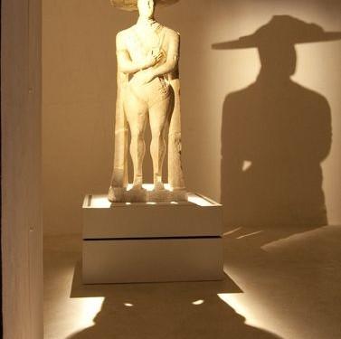 il-guerriero-di-capestrano-nella-nuova-sala, © 2011 Rosi Fontana