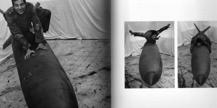 """Tre immagini della """"Colomba della Pace"""" con Pino, 1965"""