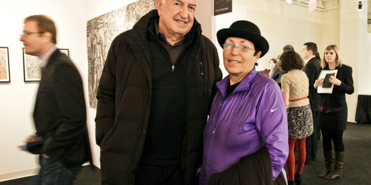 Collectors Don and Mera Rubell, Photo courtesy of Carrie Villines