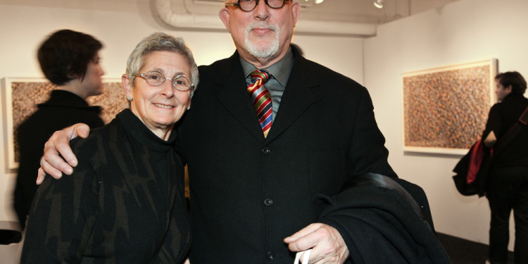 Collectors Marion Brenner and Robert Shimshak, Ph: courtesy of Carrie Villines