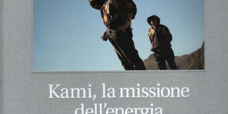 """Kami, la missione dell'energia copertina """"Vision"""" foto di Daniele Tamagni"""