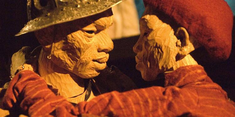 Woyzeck on the Highveld, 1992, rappresentazione al Market Theater, Johannesburg, 2008 © Handspring Puppet company (foto John Hodgkiss)