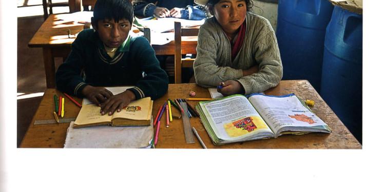 In aula...una scuola che più che altro è un'aula