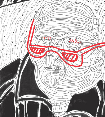 Athos Zontini, Per quanto meschini ho i miei interessi, illustrato da Claudio Parentela