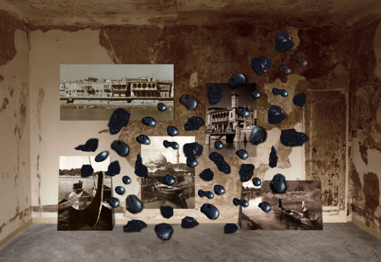 Ali Assaf Al Basrah, the Venice of the East, 2011 Mixed media installation (detail) 580x490x290 cm. Courtesy of the artist.