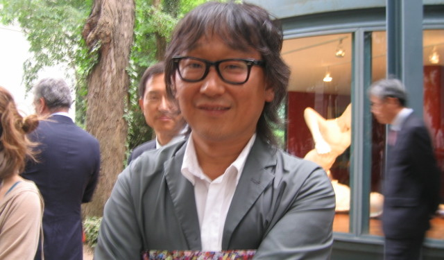 LEE YONG-BACK at the Venice Biennal 2011-Photo by R. Losapio