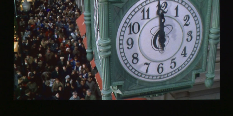 Christian Marclay The Clock, 2010 Edition of 6 Single-channel video Duration: 24 hours Courtesy White Cube, London and Paula Cooper Gallery, New York