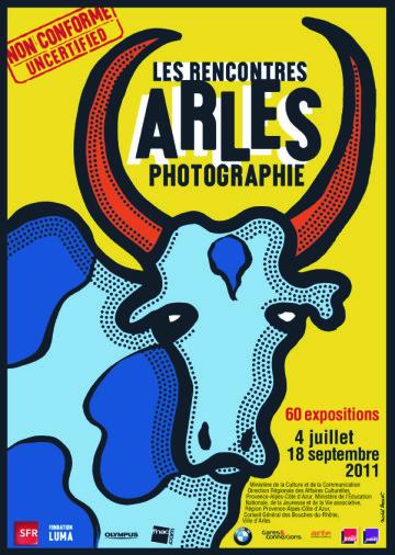 Arles affiche_2011, Michel Bouvet