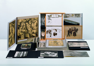Marcel Duchamp: La Boîte-en-Valise, 1938-1941 Photo © MUMOK, Museum Moderner Kunst Stiftung Ludwig Wien