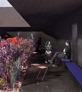 Peter Zumthor's design for 11th Serpentine Gallery Pavilion
