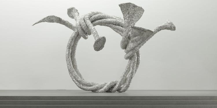 John Chamberlain. Curvatureromance NUDEPEARLS ONE, 1986/2009 © John Chamberlain / VG Bild-Kunst, Bonn 2011