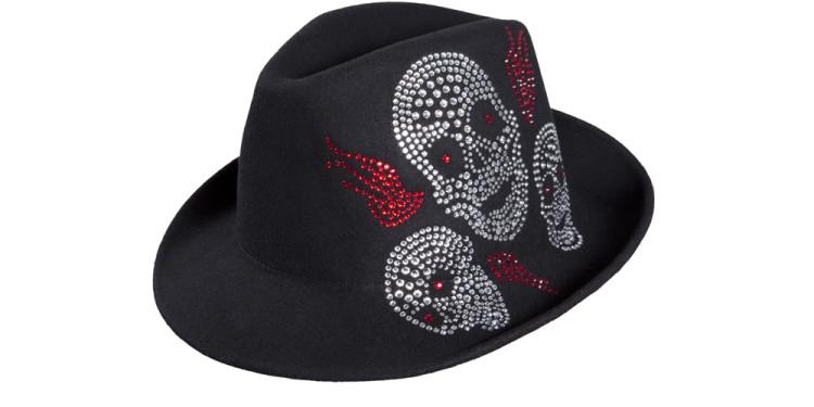 ARTHOUGHTS Modello Trans - Vital black, made with SWROVSKI ELEMENTS designer Antonio Cagianelli