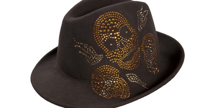Modello Trans - Vital brown, made with SWROVSKI ELEMENTS designer Antonio Cagianelli