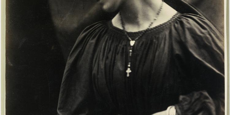 "Julia Margaret Cameron Untitled (Mary Emily ""May"" Prinsep), 1870 Albumen print"