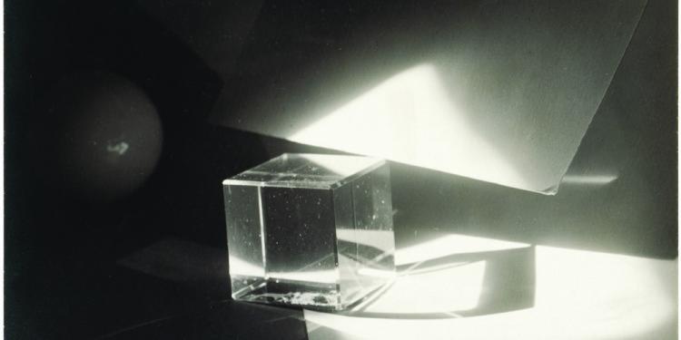 Jaromir Funke Photographic Construction, ca 1923 Gelatin silver print © Miloslava Rupesova