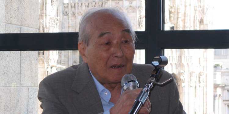 Kengiro Azuma, press conference, September 29th 2011, Museo del Novecento, Milan