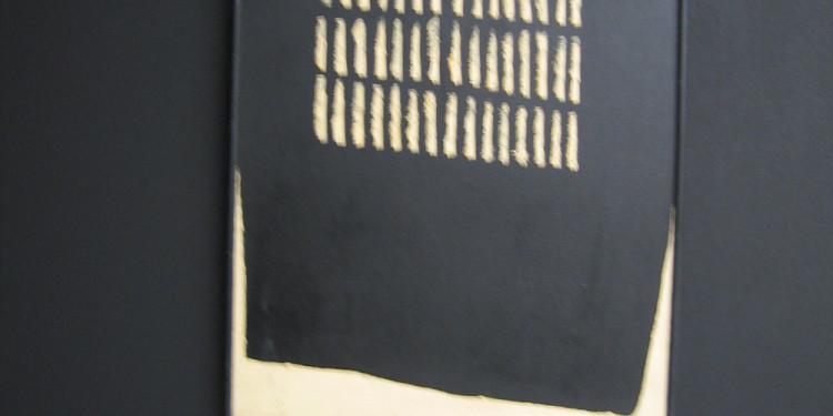 Kengiro Azuma Mu 0.6, 1960-61 Olio su Tela Collezione Boschi Di Stefano Archivio Mondadori Electa, Milano / Mauro Ranzani