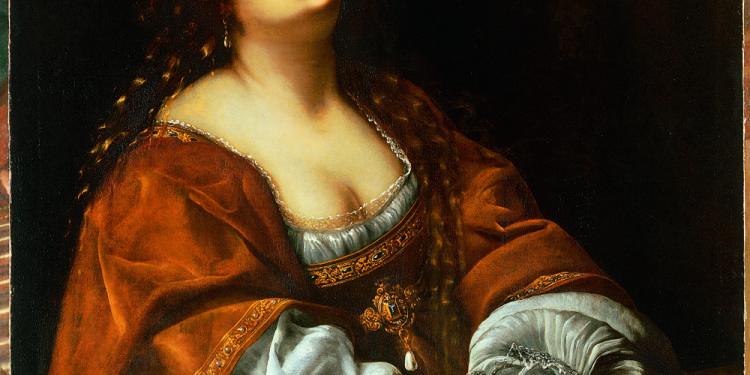 Artemisia Gentileschi Maddalena 1630 circa Olio su tela, cm 100 x 96 Collezione privata, courtesy Marco Voena, Londra-Milano © Manusardi Art Photo Studio, Milano