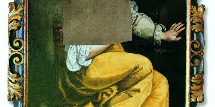 Artemisia Gentileschi Maddalena (composizione mutilata) 1615-18 circa Olio su tela, cm 146,5 x 110 Collezione privata © Collezione Privata