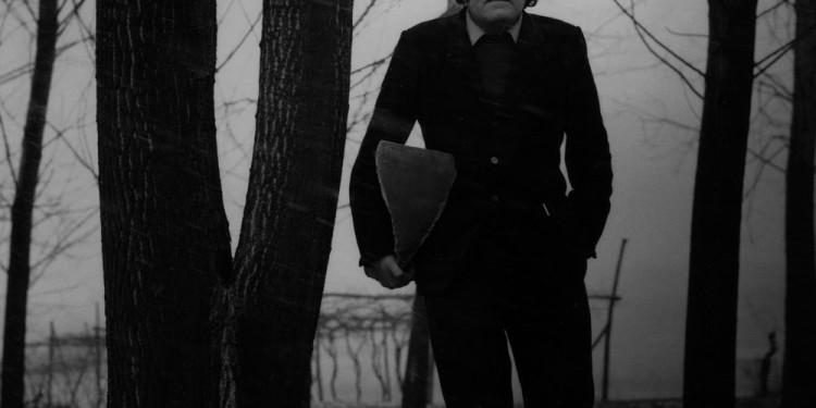 Mario Merz, 1969 Foto © Paolo Mussat Sartor
