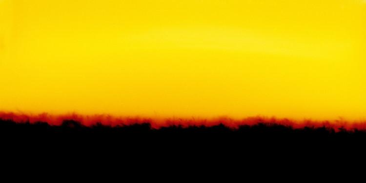 Horizon 14 - Yellow 2006, cm 200x125, C-print, plexiglas, alluminio