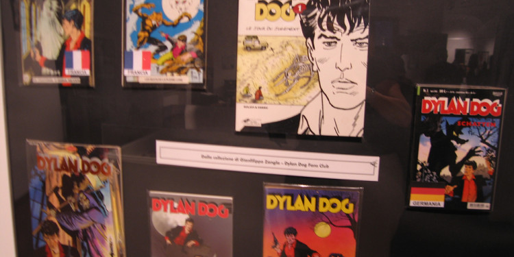 mostra 'Dylan Dog – 25 anni nell'incubo'