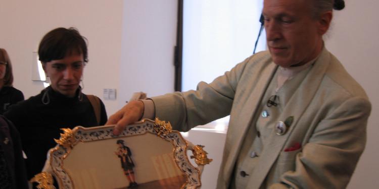 RivoltArteAltrove, mostra di Luigi Ontani, nell'ambito del progetto Le scatole viventi/The Living Boxes