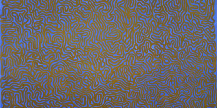 Sol LeWitt Irregular Grid 1999 Collezione Artiaco, Pozzuoli © Sol LeWitt, by SIAE 2011