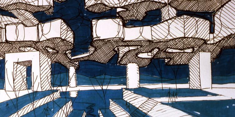 Yona Friedman: Ville Spatiale, é.n. A művész jóvoltából Yona Friedman: Ville Spatiale, n.d. Courtesy of the Artist