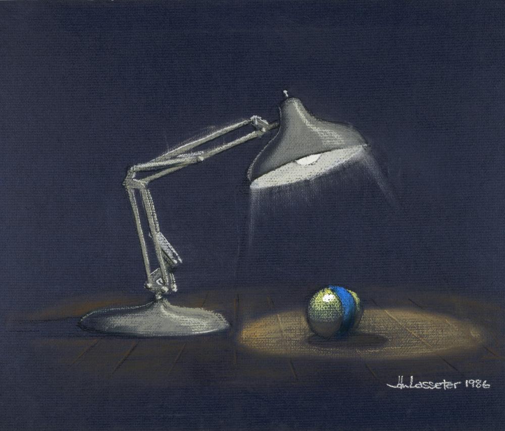 John Lasseter Luxo Jr 1986 Pastello 1f Mediaproject