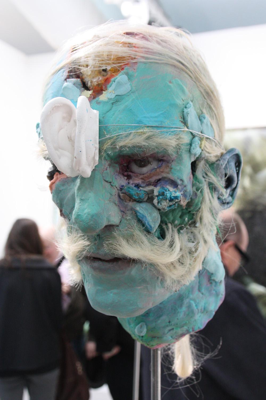 david altmejd  untitled  2011  epoxy clay  plaster  glass