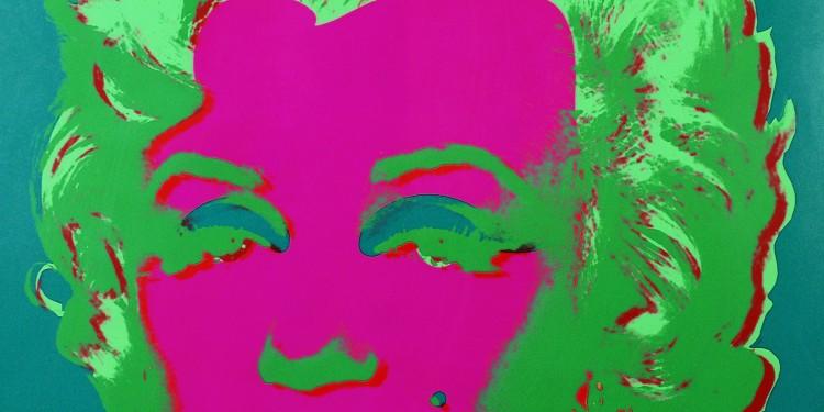 Andy Warhol, Marilyn, 1967 serigrafia, 91,5 x 91,5 cm, collezione privata