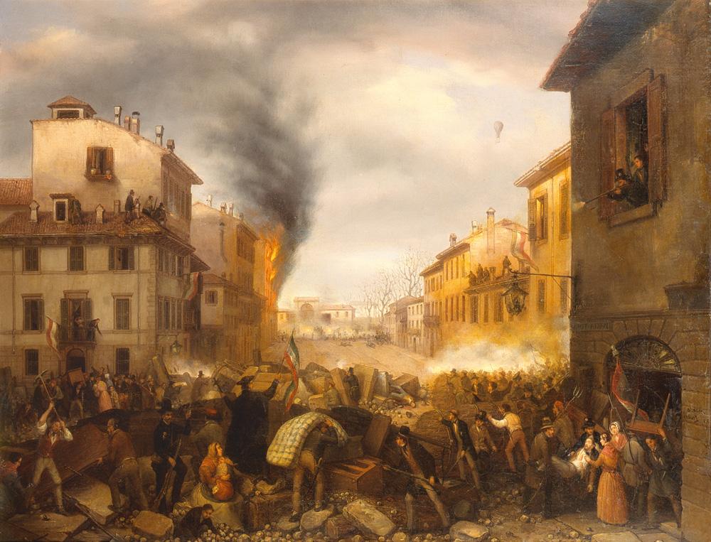 Carlo Canella Verona 1800 Milano 1879 Porta Tosa In