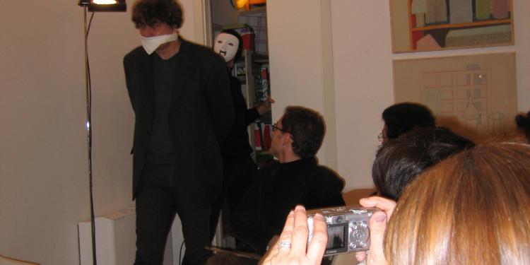 Maurizio Ceccato - presentazione Non capisco un'acca di Maurizio Ceccato alla Libreria extemporanea 121- Milan