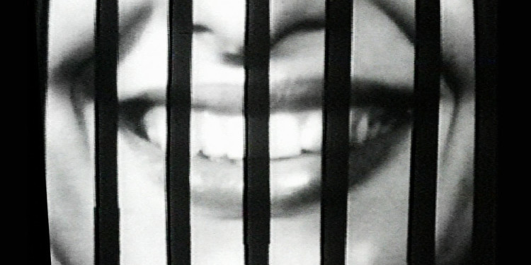 Sanja Iveković. Sweet Violence. 1974. Video (black and white, sound), 5:56 min. The Museum of Modern Art, New York. Gift of Jerry I. Speyer and Katherine G. Farley, Anna Marie and Robert F. Shapiro, Marie-Josée and Henry R. Kravis, and Committee on Media and Performance Art Funds. © 2011 Sanja Iveković