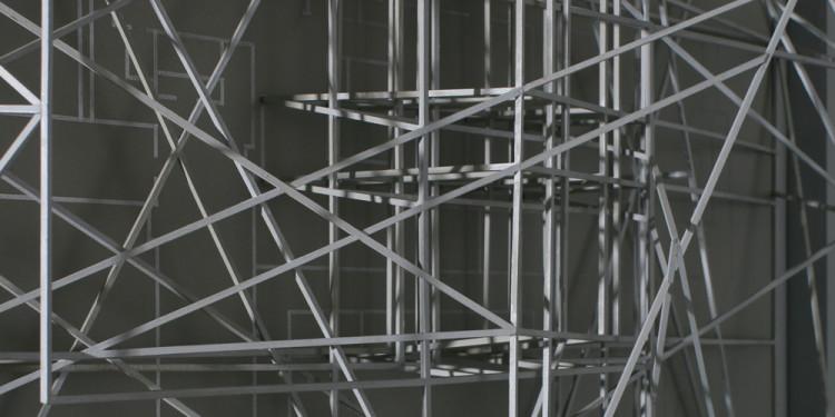 János Megyik: Santa Maria Novella (detail), 1981–1982 MUMOK, Museum Moderner Kunst Stiftung Ludwig Wien, loan of the Artothek des Bundes, Österreich Photo: József Rosta