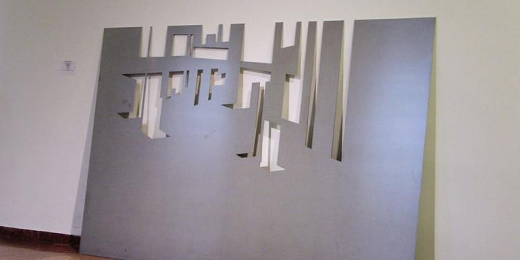 János Megyik: Horizon, 1999 Ludwig Museum - Museum of Contemporary Art Photo: István Halas