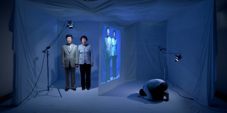Jinkyun Ahn Encave #14, 2010, projected image