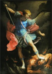 Guido Reni (1575-1642) San Michele Arcangelo, 1635, olio su tela