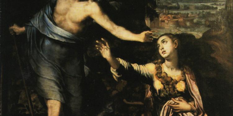 Marco Pino da Siena (1525c.-1586) Noli me tangere, Metà del XVI secolo, olio su tela