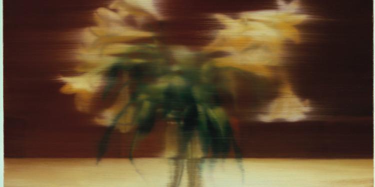 © Gerhard Richter, 2012, Lis [Lilien] 2000 Huile sur toile 68 × 80 cm Ottawa, National Gallery of Canada. Acquis en 2002