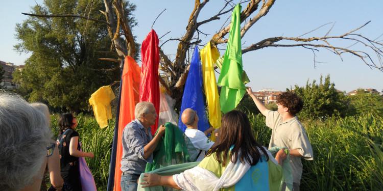 Performance Rainbow in Caffarella