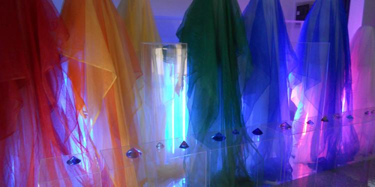 Installazione Human Rainbow di Vincenzo Ceccato-RO.MI.-6.7.2012