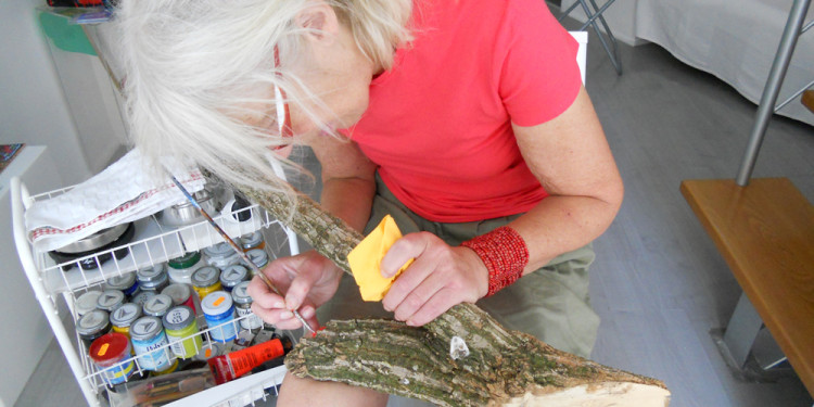 Jill Rock at work