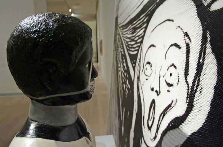 A hős, a hősnő és a szerző, Enteriőr / The Hero, the Heroine and the Author, Interior © Balázs SZÉKELYHIDI / Ludwig Museum - Museum of Contemporary Art, Archives