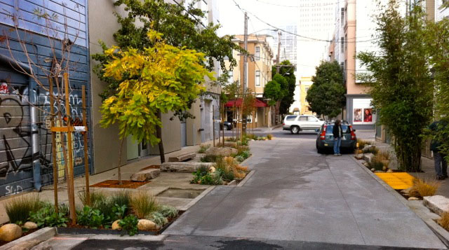 Linden Living Alley, Dave Winslow and Loring Sagan San Francisco Photo courtesy Linden Living Alley