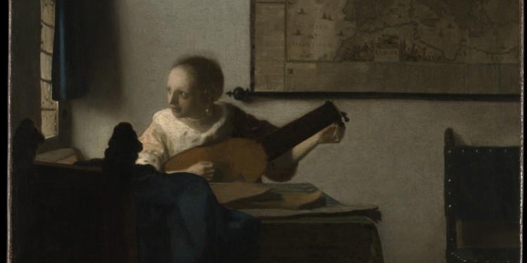 Johannes Vermeer La suonatrice di Liuto, 1662/1663 ca. Olio su tela, 51.4 x 45.7 cm The Metropolitan Museum of Art, New York