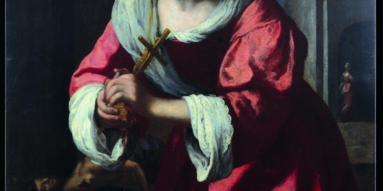 Johannes Vermeer Santa Prassede, 1655 Olio su tela, 101.6 x 82.6 cm BPJ Holding Corporation, The Barbara Piasecka Johnson Collection Foundation