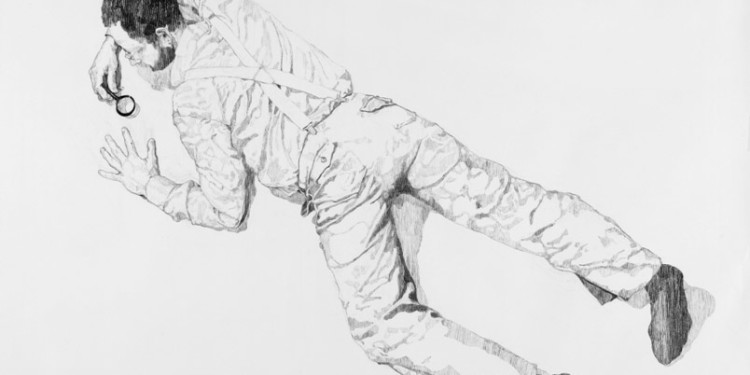 Surface, 2011, drawing charcoal on paper, 120X80cm (each)
