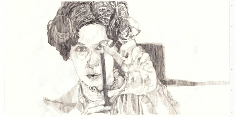 Mechanical Pencil on paper, 2011, 42x59.4 cm. Exhibited at Camera Obscura, Natalie Seroussi gallery